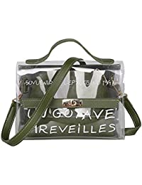 721c541193 Crewell Women Transparent Bag Clear PVC Jelly Small Tote Summer Beach Bag  Female Crossbody Bags