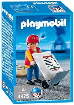 Playmobil - 4475 - La Vie au au au Port -  Docker  Chariot   De Nouvelles Variétés Sont Introduites L'une Après L'autre  f9f55a
