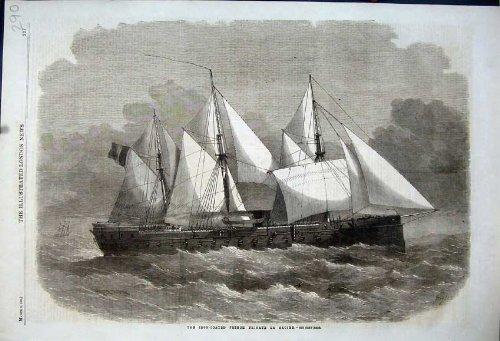 Nave di Navigazione Francese Ferro-Rivestita di Gloire della La della