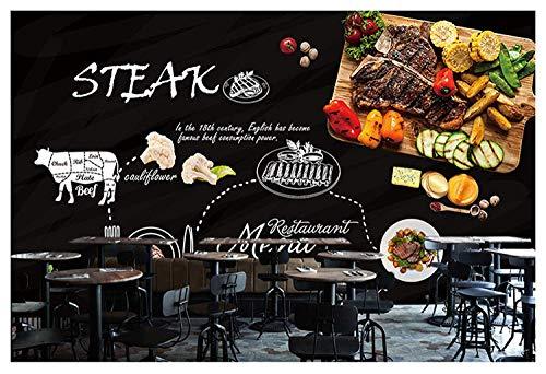 Benutzerdefinierte 3d wandbild tafel graffiti pizza thema tapete westlichen restaurant café tapete wandbild @ 300 * 210 cm