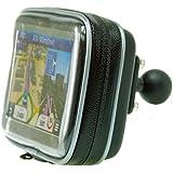 BuyBits Étui étanche avec 25mm balle (2,5cm) pour TomTom GPS Start 60