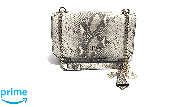Borsa Guess tracolla Holly 2 comparti in ecopelle stampa