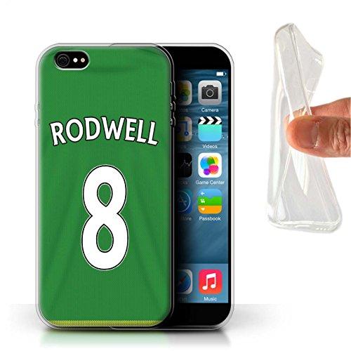 Offiziell Sunderland AFC Hülle / Gel TPU Case für Apple iPhone 6+/Plus 5.5 / Mannone Muster / SAFC Trikot Away 15/16 Kollektion Rodwell