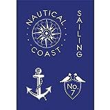 Produkt-Bild: Rayher Hobby RAYHER Schablone Sailing, DIN A5, Gummi, Blau, 26 x 16 x 0.2 cm, 4 Einheiten