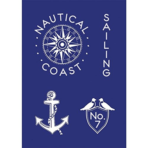 Rayher Hobby RAYHER Schablone Sailing, DIN A5, Gummi, Blau, 26 x 16 x 0.2 cm, 4 Einheiten (0.2 Einheiten)