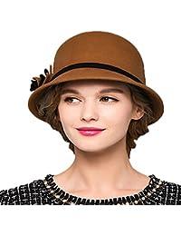 01e3c1107c9ff Amazon.co.uk  Fedoras   Trilby Hats - Hats   Caps  Clothing
