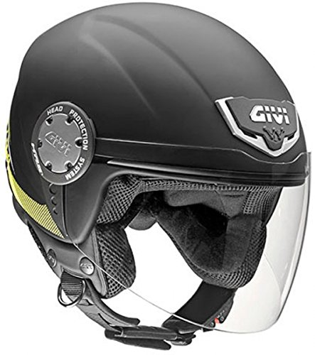 GIVI Casco 10.4F Solid, Nero Opaco