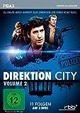 Direktion City, Vol. 2 / Weitere 11 Folgen der legendären Krimiserie (deutsche Version von TASK FORCE POLICE) (Pidax Serien-Klassiker) [3 DVDs]