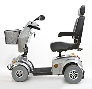 Freerider City Ranger 6 Class 3 4 Wheel Mobility Scooter - Silver