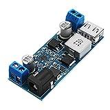 Generic 5Pcs XH-M249 DC5V 6A Step Down Module 12V/24V to 5V Power Supply USB Charging 5A 30W