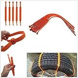 Catene da neve aderenti allo pneumatico facili da installare e da rimuovere, 10...