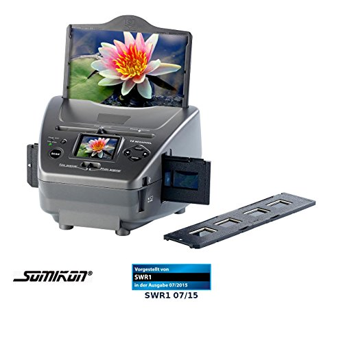 Somikon 3in1 Dia-, Foto- & Negativ-Scanner SD-1400 mit 14-MP-Sensor