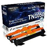 N.T.T.® 2x Kompatibel zu Brother Toner TN-1050 Black/Schwarz für DCP 1510 1512 1601 1610 1612 1616 HL 1110 1112 1201 1210 1211 1212 MFC 1810 1815 1910 1915