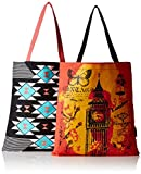 #1: Kanvas Katha Women's Combo Tote Bag (Multi-Colour) (KKBSAMZAUG002-KKBSAMZAUG008)