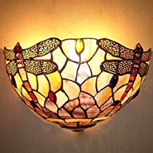 Promociones Frente Shell de la lámpara de la libélula original 280 Yuan 12 pulgadas Natural Shell lámpara de pared de dormitorio de la lámpara Espejo Lámpara Tiffany Lámparas
