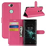 Lapinette Schutzhülle Wallet-Etui für Sony Xperia XA2 Plus rosa