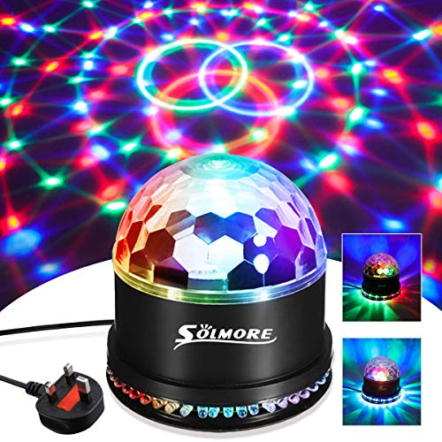 Disco Ball Dmx512 Auto-running Ac85-240v 18w 9 Led Rgbw Magic Ball Stage Light Lighting Fixture For Party Dj Show Bar Rapid Heat Dissipation Commercial Lighting Stage Lighting Effect