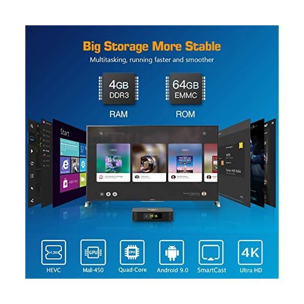 NinkBox-Android-TV-Box-Android-90-4G64G-N8-Plus-TV-Box-de-Bluetooth-40-Amlogic-S905X3-Quad-Core-64bit-Cortex-A55-Box-Android-TV-de-LAN100M-et-Wi-FI-24G5G-TV-Box-8K-Boitier-Android-TV