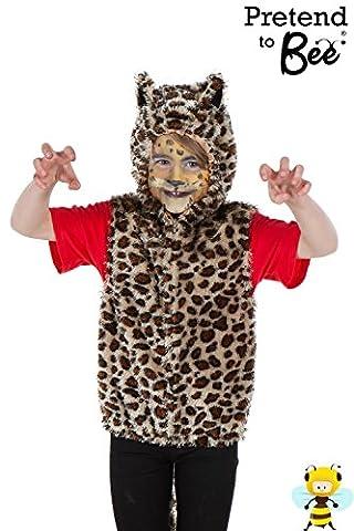 Leopard Zip Top - Kids Costume