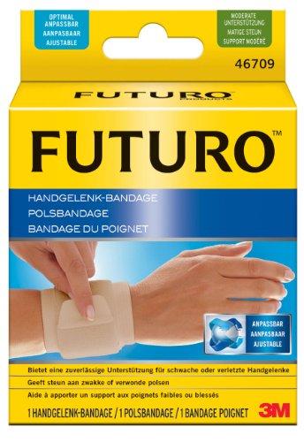 futuro bandagen FUTURO FUT46709 Classic Handgelenk-Bandage, beidseitig tragbar, Einheitsgröße