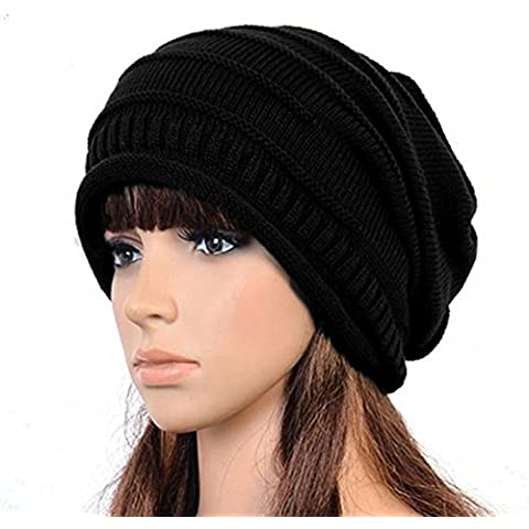 Butterme Unisex Donne Uomini Lungo Slouch Beanie