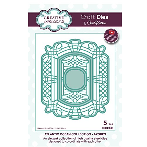 Preisvergleich Produktbild Craft sterben ced13005 Sue Wilson Atlantic Ocean Collection - AZOREN