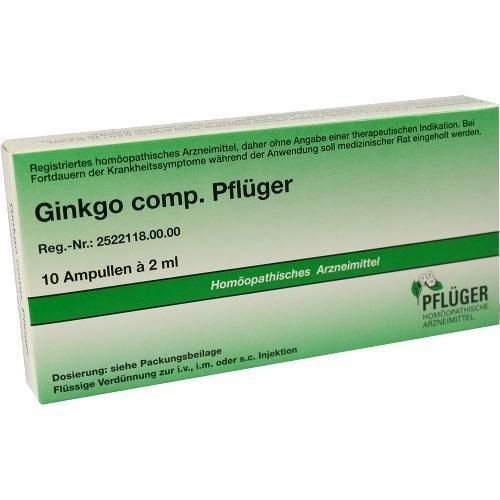 GINKGO COMP.Pflüger Ampullen 10 St