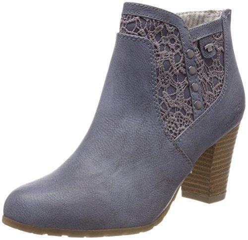 Tom tailor 4890005, stivali donna, denim (jeans), 39 eu