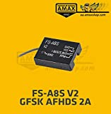 FS-A8S Flysky V2 Empfänger Metal Gehäuse 2,4G PPM i-Bus SBUS Mini Receiver AFHDS 2A Transmitter