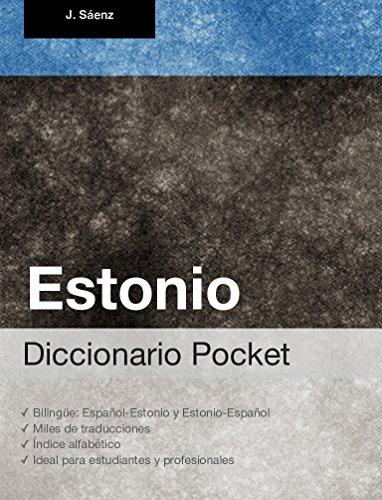 Diccionario Pocket Estonio eBook: Juan Sáenz: Amazon.es: Tienda Kindle