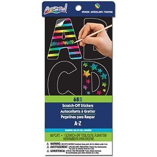 Artskills NOM152690 Scratch N See Alphabet Stickers by ArtSkills