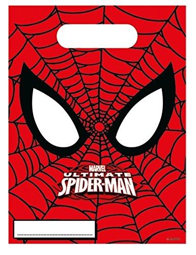 6-Bolsas-regalos-Ultimate-Spiderman-nica
