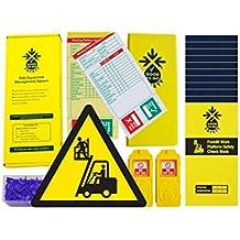 Good To Go seguridad 51350carretilla elevadora Kit de Plataforma de trabajo diario, 2etiquetas, sellos de 300, 11Check libros y 1tipo cartera con bolígrafo