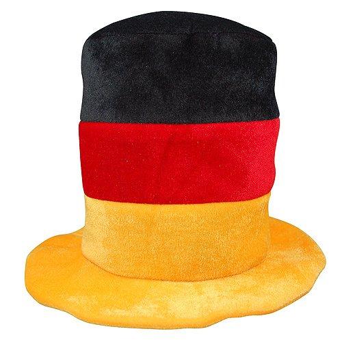 Elastofit 2er-Set Fanhut Deutschland Zylinder Fanartikel WM 2018 Mütze