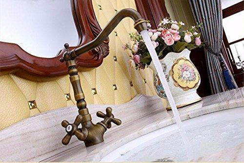 qmpzg-antigua-europea-caliente-y-fria-golpea-ligeramente-vintage-lavabo-grifo