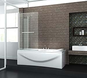 eck duschtrennwand uniono 70 badewanne baumarkt. Black Bedroom Furniture Sets. Home Design Ideas