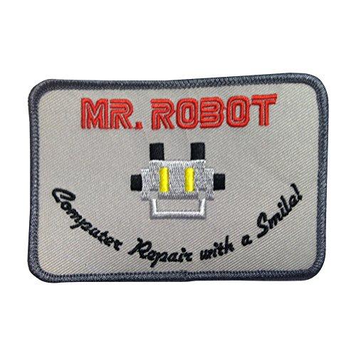 herr-robot-iron-on-patch-computer-reparatur-mit-einem-lacheln-fsociety-usa-tv-show