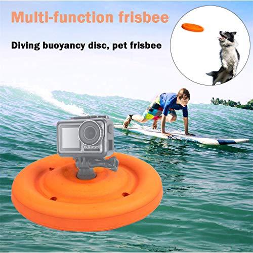 hahuha  Eva Buoyancy Pet Round Disk für Action Sport Kamera für DJI Osmo Action