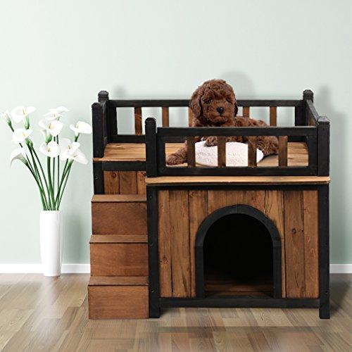 finether niche pour chiens grand maison d 39 ext rieur et d. Black Bedroom Furniture Sets. Home Design Ideas