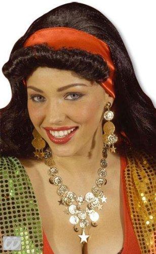 Goldenes Schmuckset Esmeralda (Kostüme Glöckner Von Notre Dame)