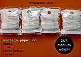 Filo di lino cerato per rilegatura libri, 40m, peso medio (25/3)