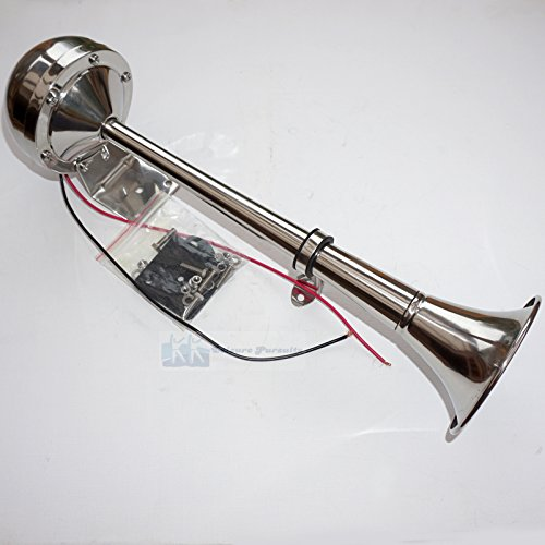 12v-100-stainless-steel-high-tone-marine-horn-single-trumpet-boat-truck