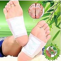 Preisvergleich für 100 Stücke Detox Fußpflaster, Funwill Fuß Detox Pad Detox Fuß Patches zur Stresslinderung, Verbesserung der Schlafqualität...