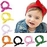 JT-Amigo Lote de 8 Piezas Diademas para Bebes Niñas en Varios Colores