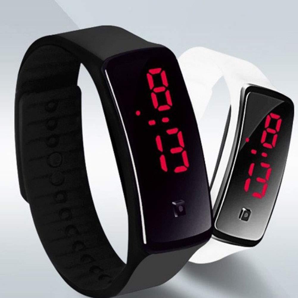 nuovo elenco cercare ultimo design Bambini di orologio da polso digitale touch screen LED Bracciale ...