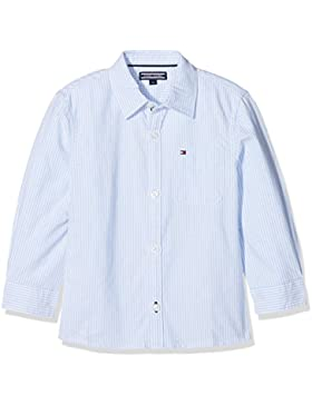 Tommy Hilfiger Ithaca Stripe Shirt L/S, Blusa para Niños