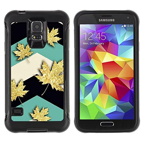 samsung-galaxy-s5-hybrid-case-handyhulle-maple-leaf-canada-teal