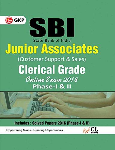SBI Junior Associates Clerical Grade Phase I & II - Guide 2018