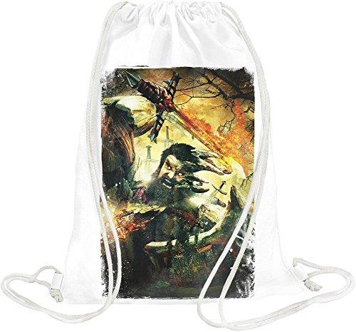 Dante's Inferno Viking Demon Borsa morbida