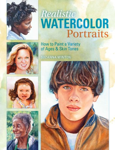 Realistic Watercolor Portraits: How to Paint a Variety of Ages and Ethnicities di Suzanna Winton